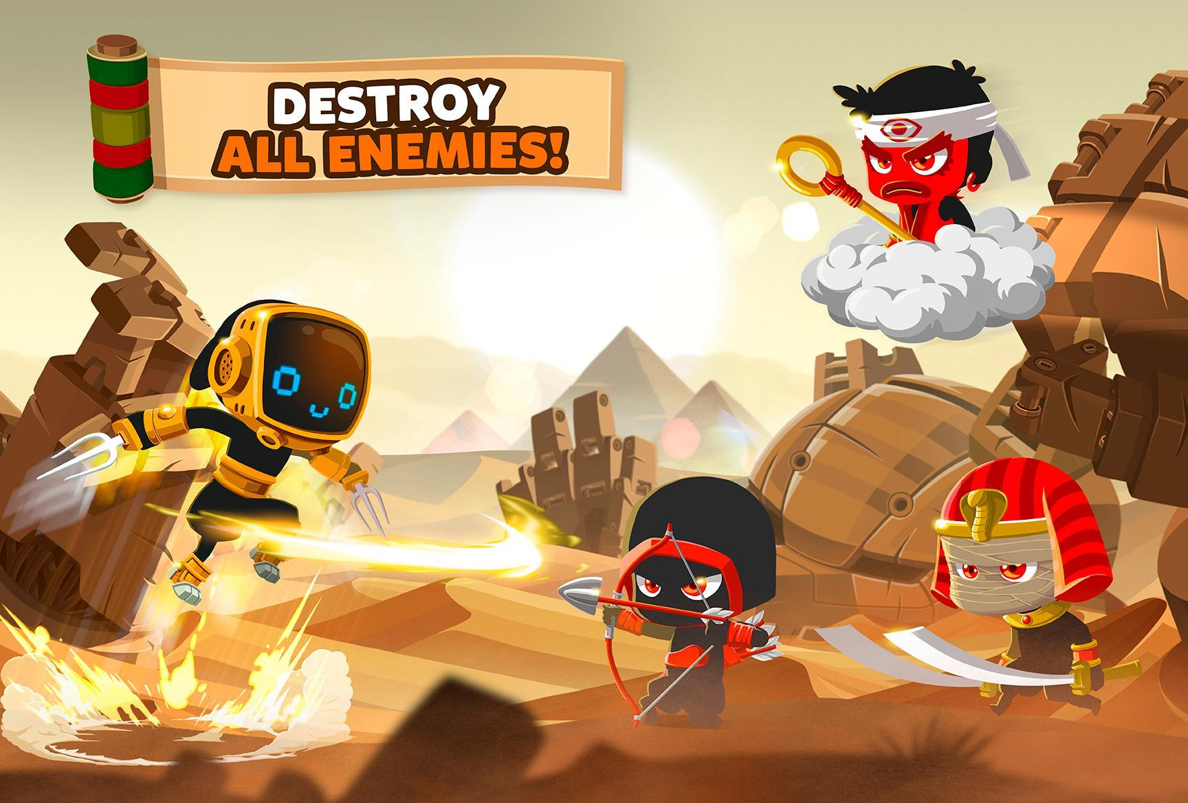 Ninja Dash Run - Epic Arcade Offline Games 2020 1.4.2 Screenshot 4