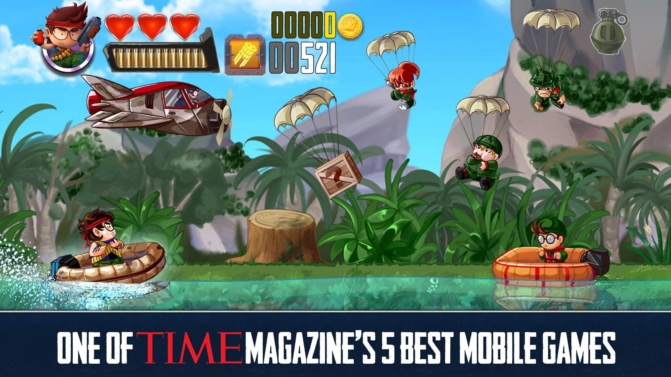 Ramboat Offline Jumping Shooter and Running Game 4.1.5 Screenshot 13