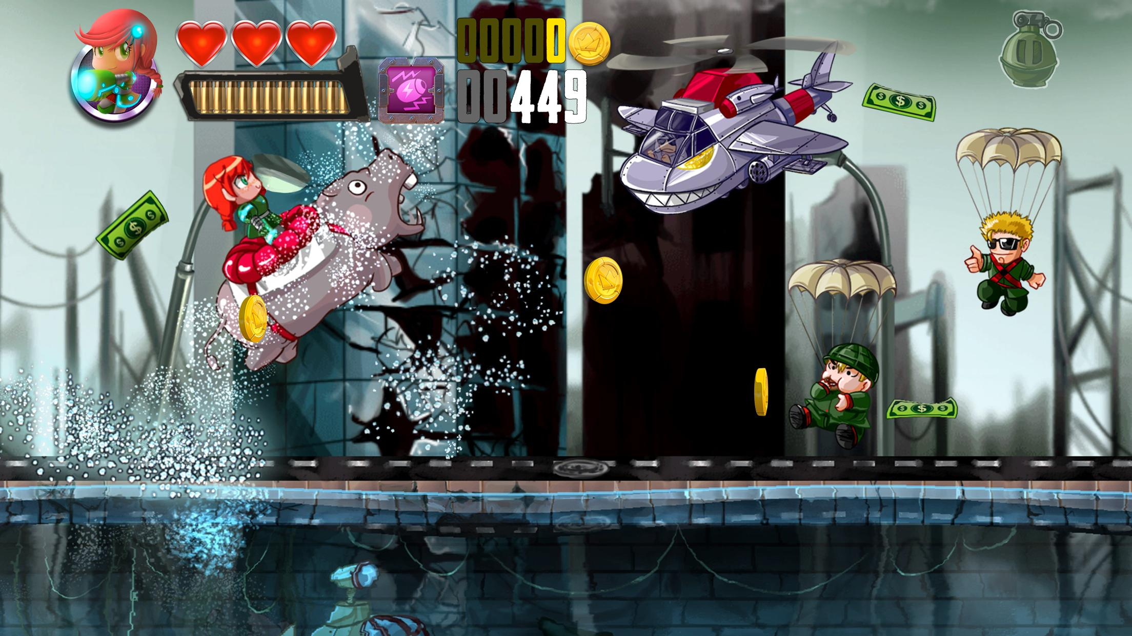 Ramboat Offline Jumping Shooter and Running Game 4.1.5 Screenshot 4