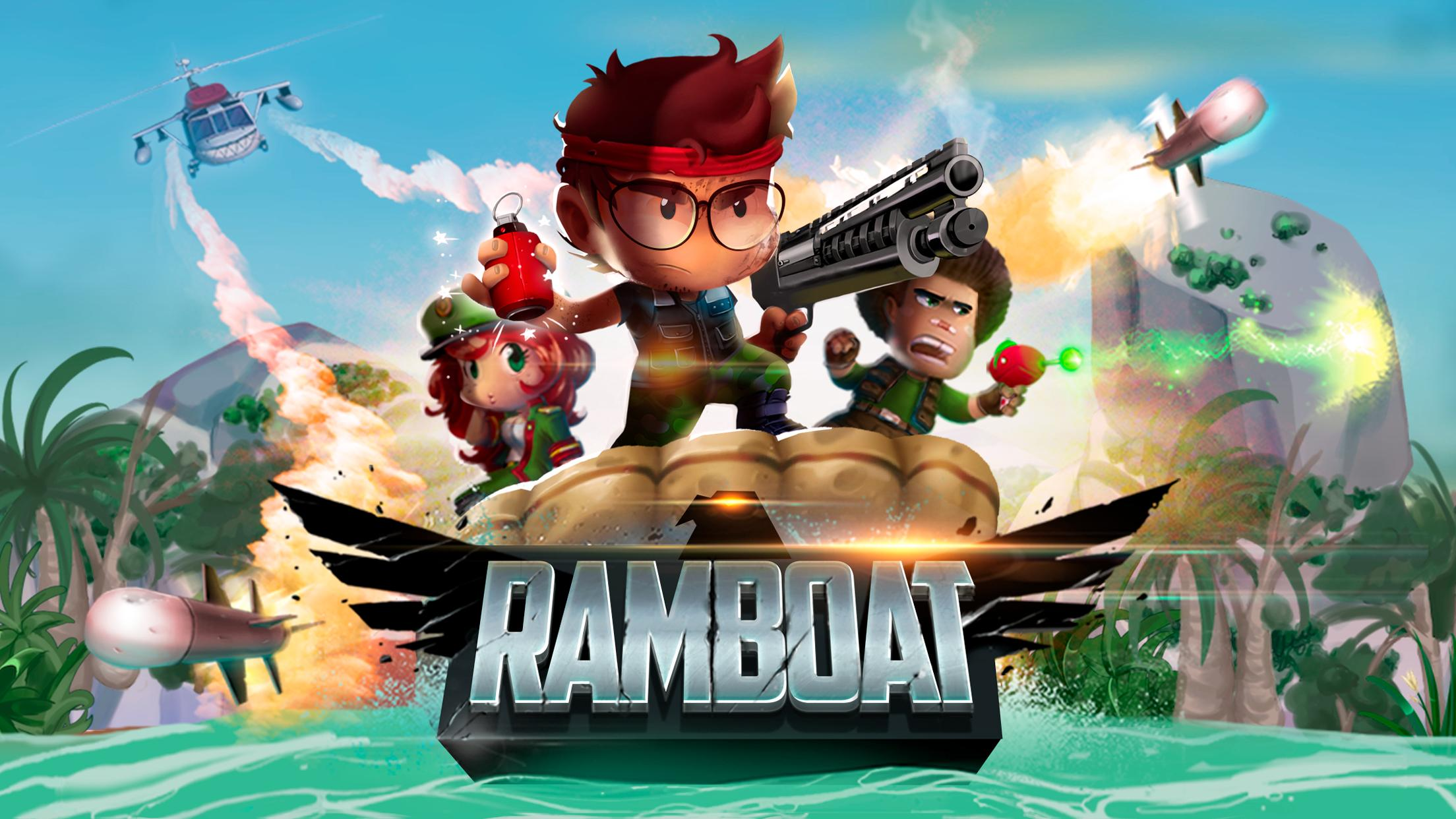 Ramboat Offline Jumping Shooter and Running Game 4.1.5 Screenshot 6