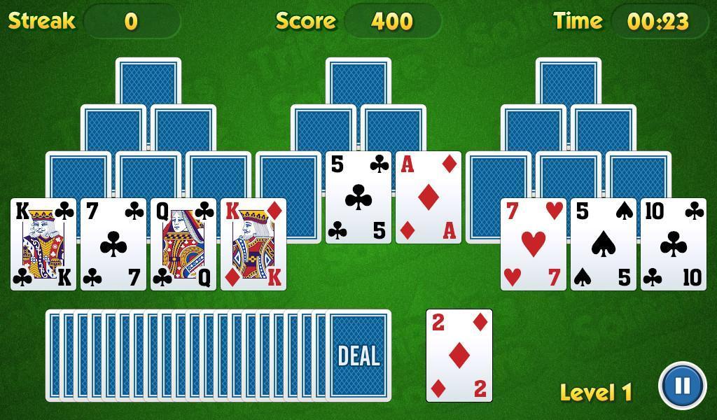 TriPeaks Solitaire Challenge 1.3.15 Screenshot 3