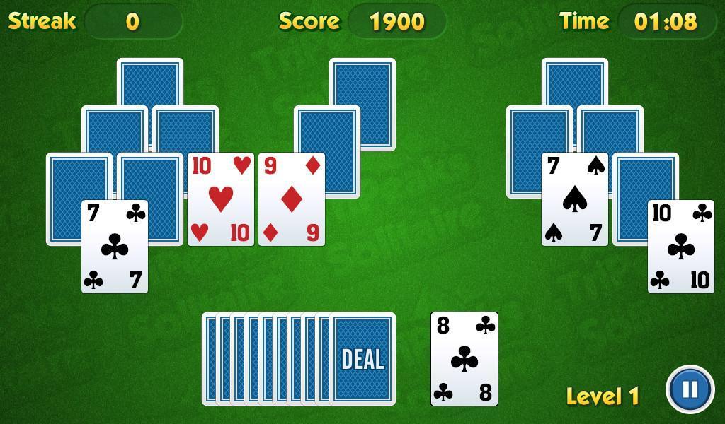 TriPeaks Solitaire Challenge 1.3.15 Screenshot 4