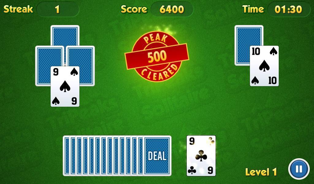 TriPeaks Solitaire Challenge 1.3.15 Screenshot 5