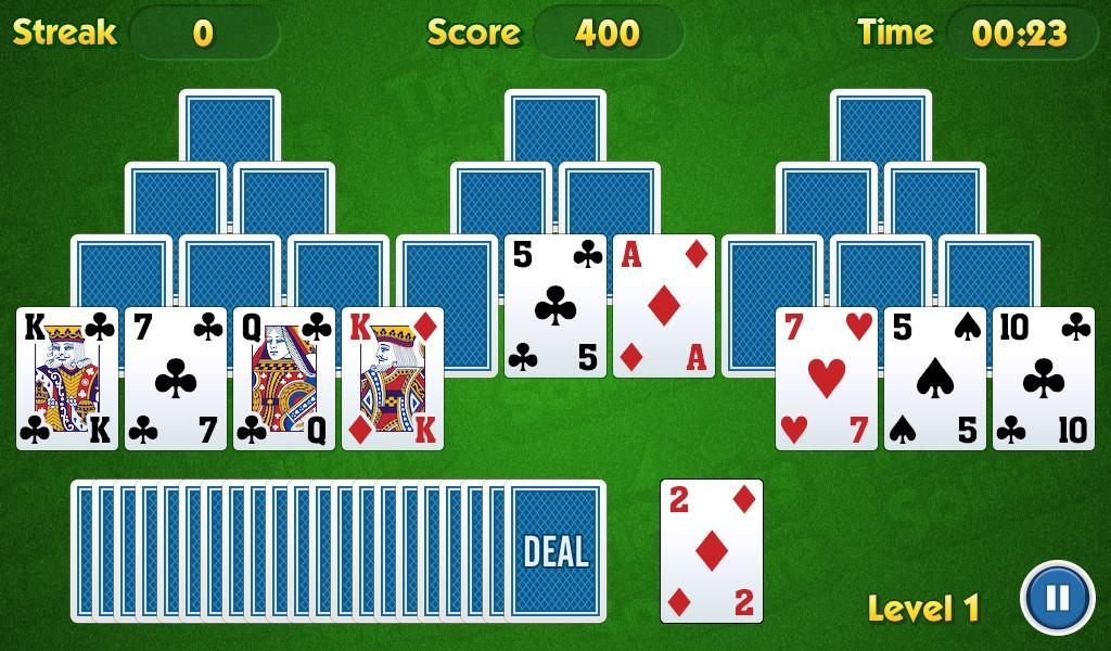 TriPeaks Solitaire Challenge 1.3.15 Screenshot 8