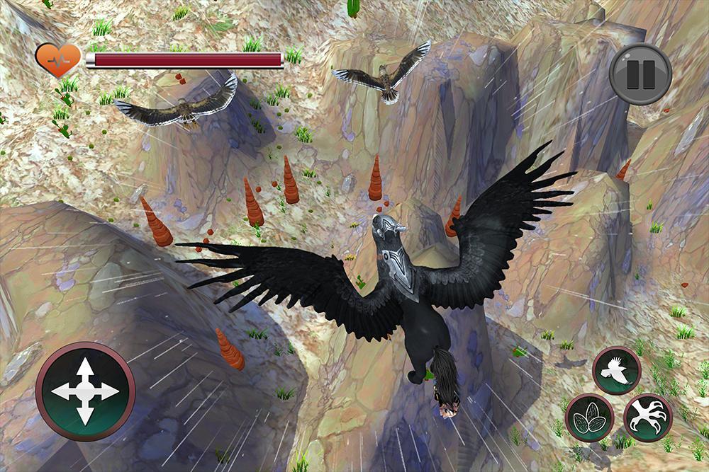 Wild Griffin Family Flying Eagle Simulator 2.0 Screenshot 11