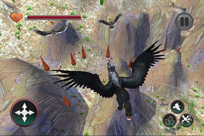 Wild Griffin Family Flying Eagle Simulator 2.0 Screenshot 2