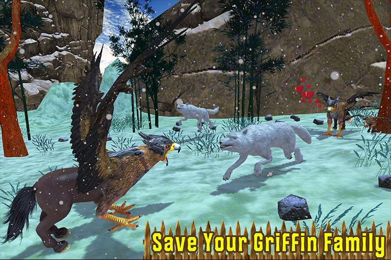 Wild Griffin Family Flying Eagle Simulator 2.0 Screenshot 3
