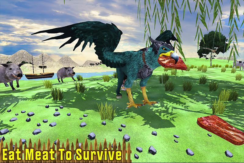 Wild Griffin Family Flying Eagle Simulator 2.0 Screenshot 4
