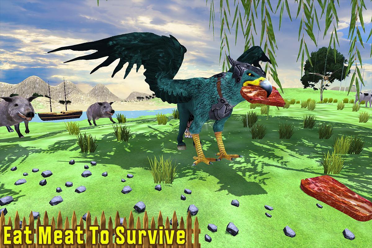 Wild Griffin Family Flying Eagle Simulator 2.0 Screenshot 5