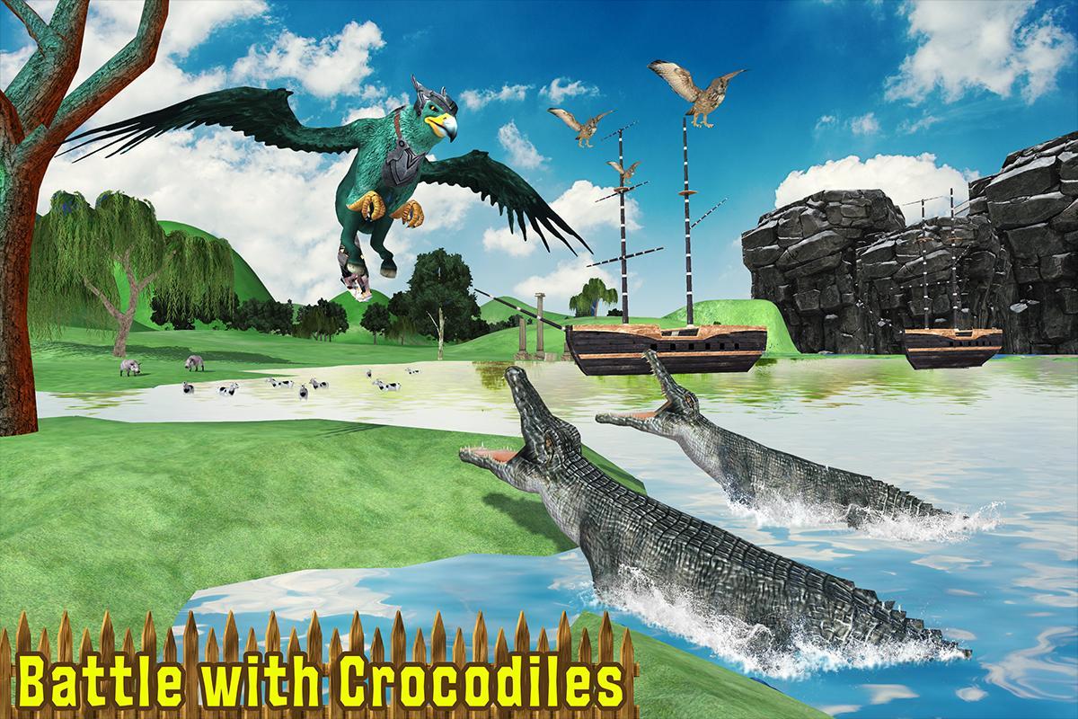 Wild Griffin Family Flying Eagle Simulator 2.0 Screenshot 8
