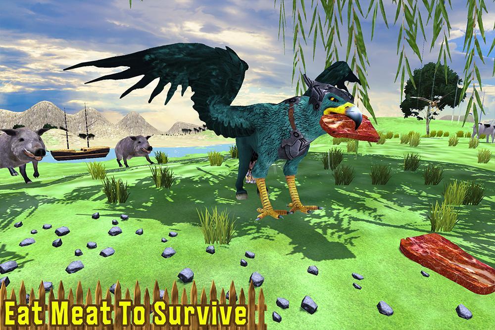 Wild Griffin Family Flying Eagle Simulator 2.0 Screenshot 9