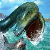 Ultimate Sea Dinosaur Monster: Water World Game app icon