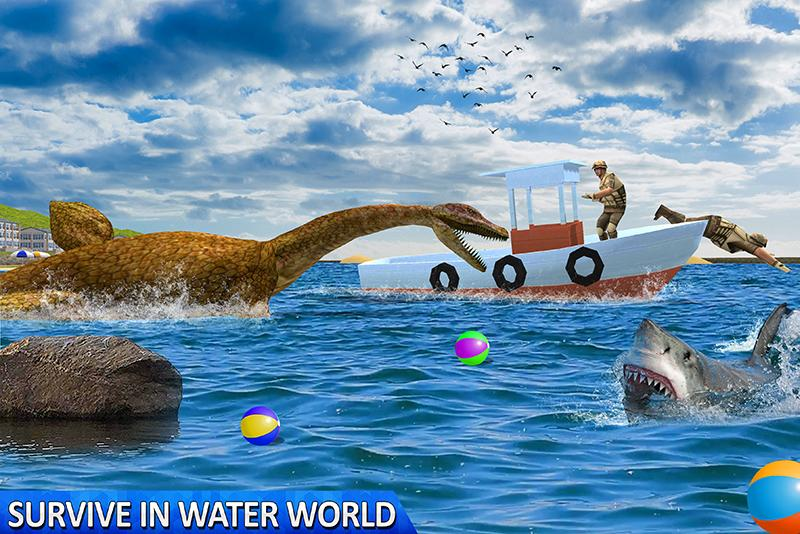 Ultimate Sea Dinosaur Monster: Water World Game 1.2 Screenshot 1