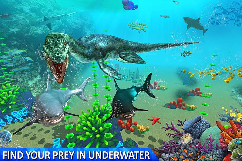 Ultimate Sea Dinosaur Monster: Water World Game 1.2 Screenshot 3
