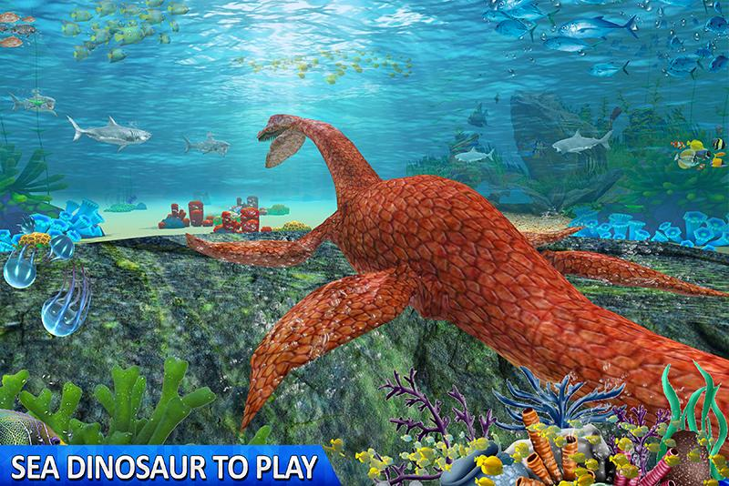 Ultimate Sea Dinosaur Monster: Water World Game 1.2 Screenshot 4