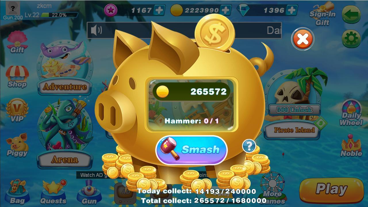 BanCa Fishing - Big Fish Game 1.49 Screenshot 6