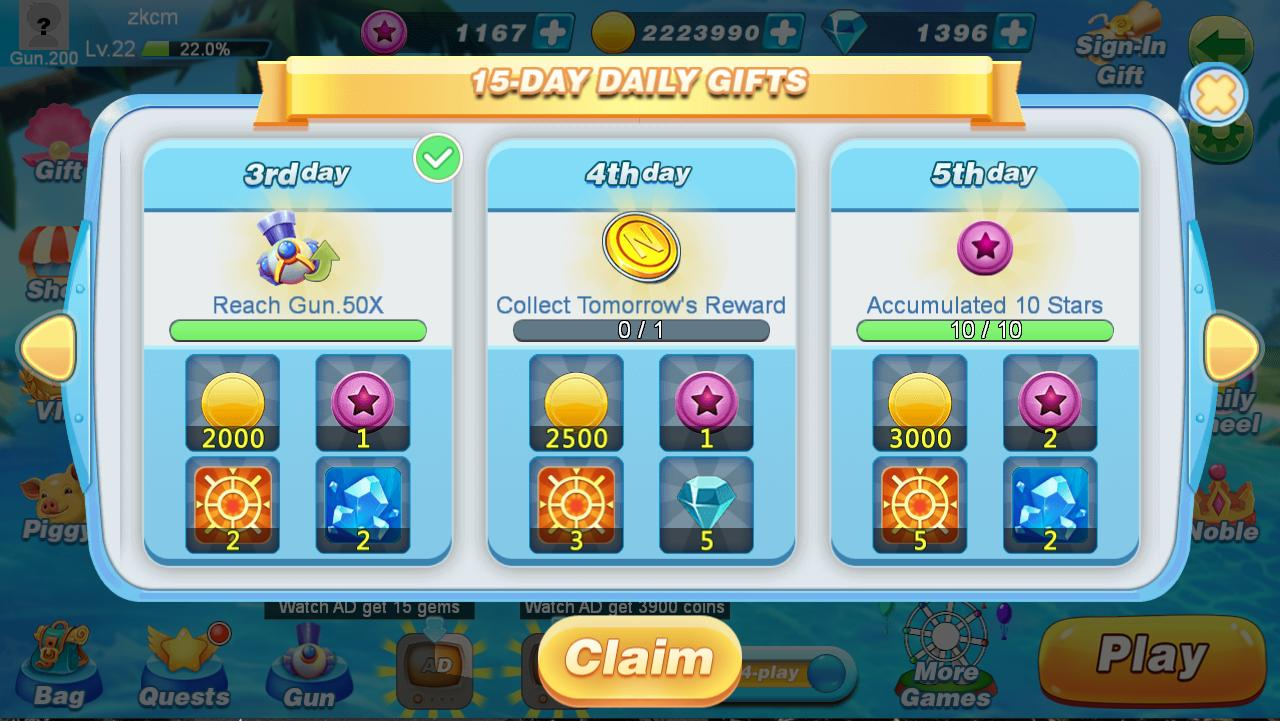 BanCa Fishing - Big Fish Game 1.49 Screenshot 7