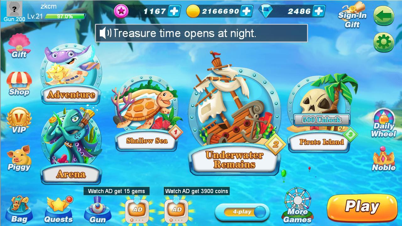 BanCa Fishing - Big Fish Game 1.49 Screenshot 8