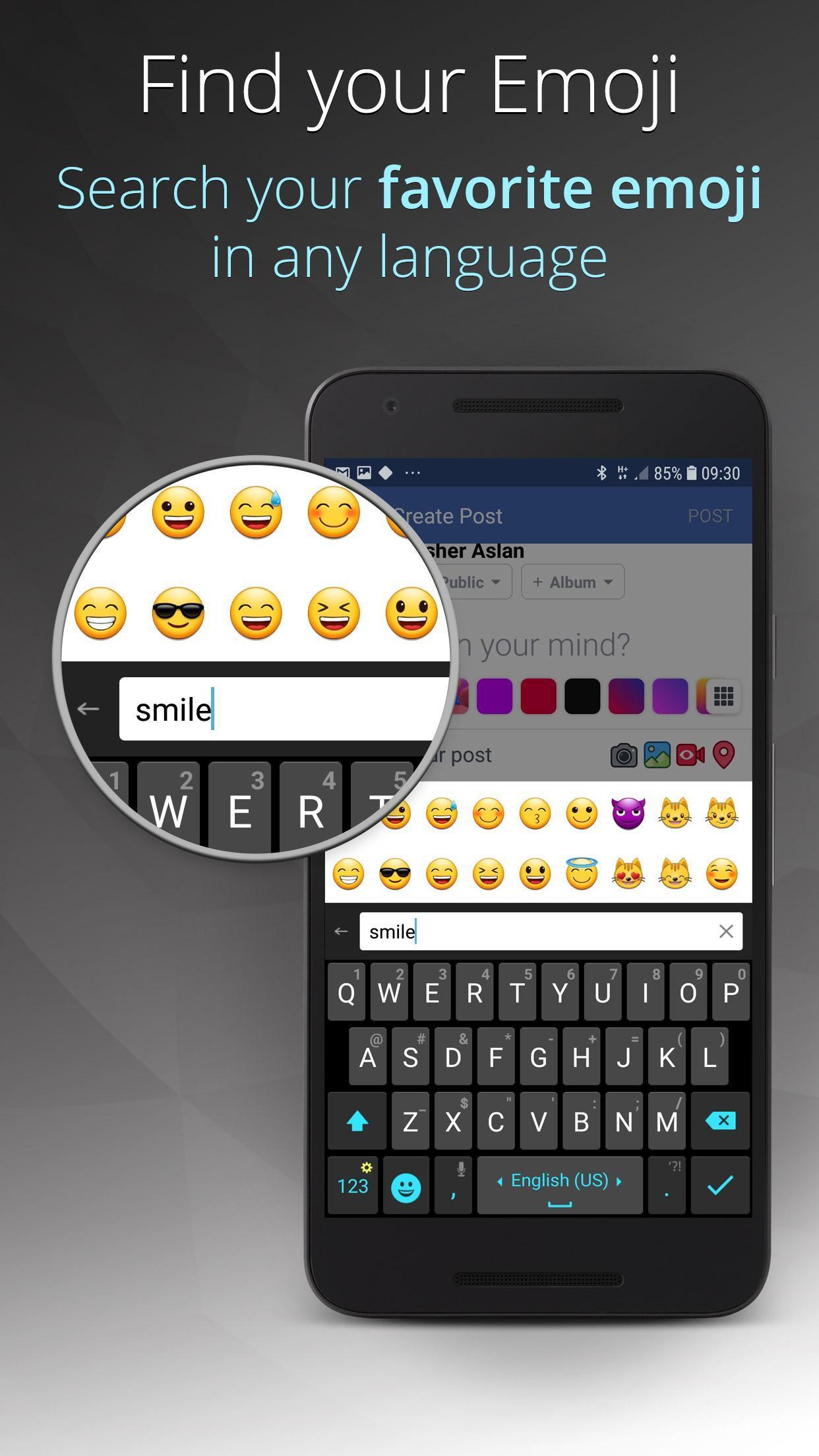 Ginger Keyboard Emoji, GIFs, Themes & Games 9.0.07 Screenshot 4