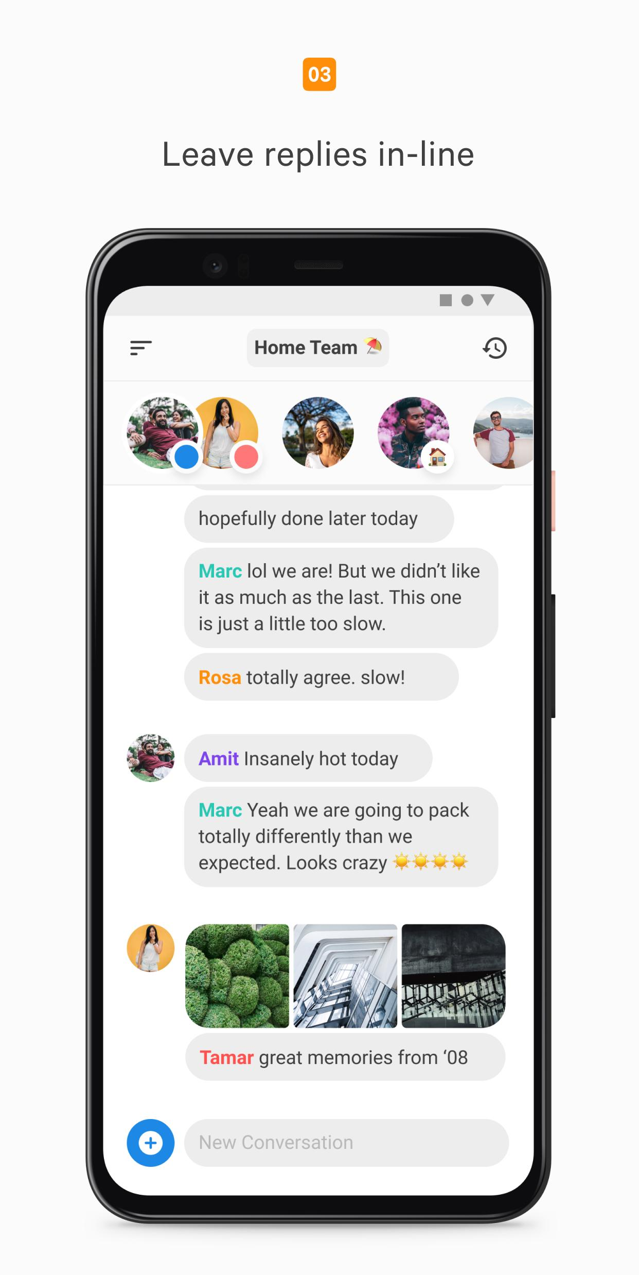 Cocoon Share Privately with Your Closest Groups 1.2.4 Screenshot 4