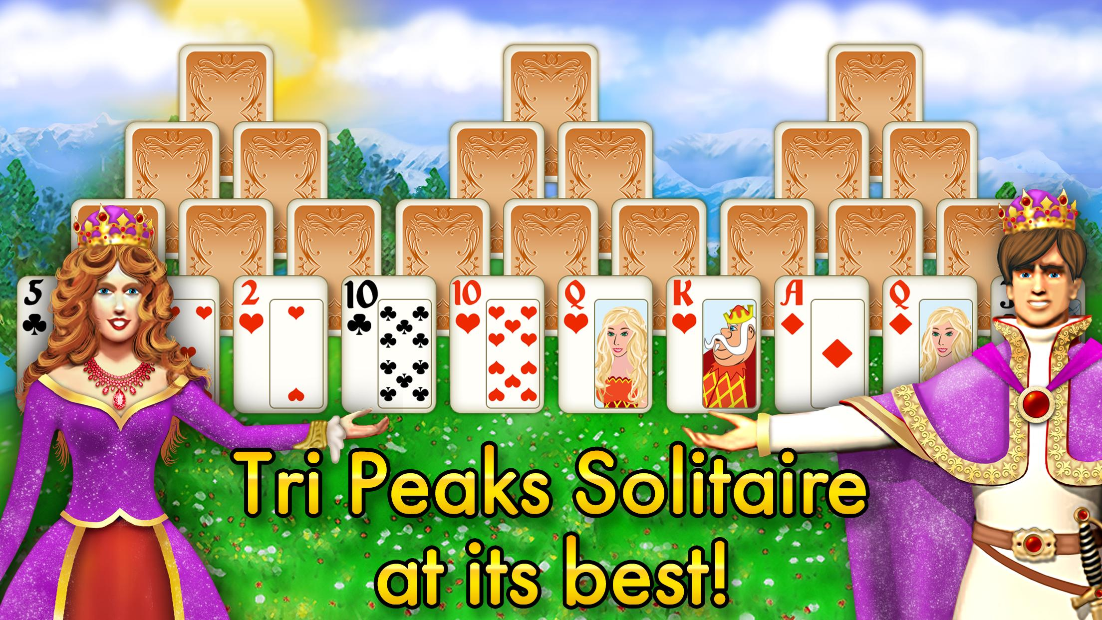 Magic Towers Solitaire Tri Peaks 1.53.21-g Screenshot 1