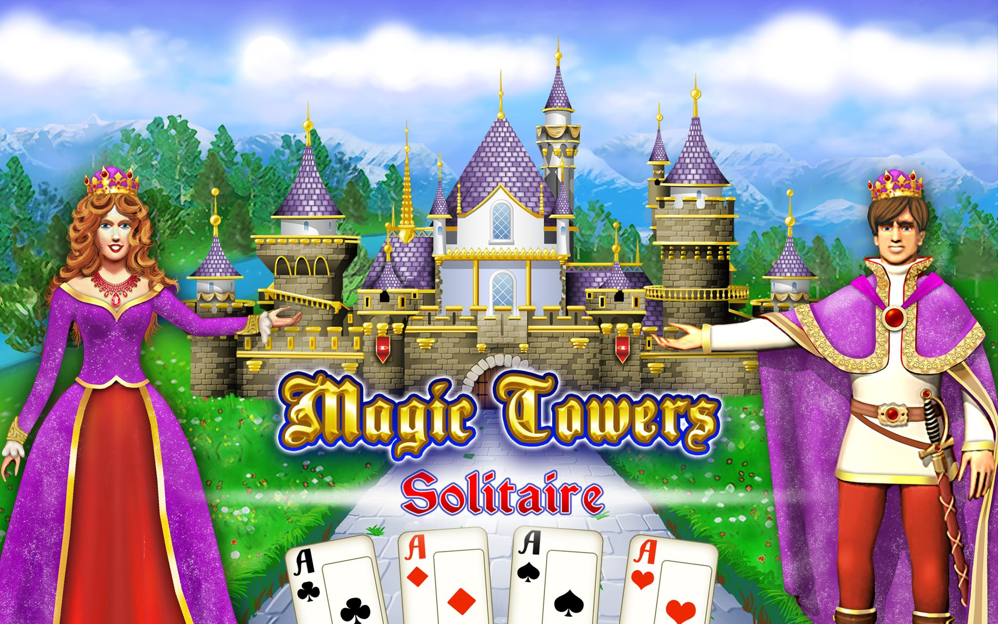 Magic Towers Solitaire Tri Peaks 1.53.21-g Screenshot 10