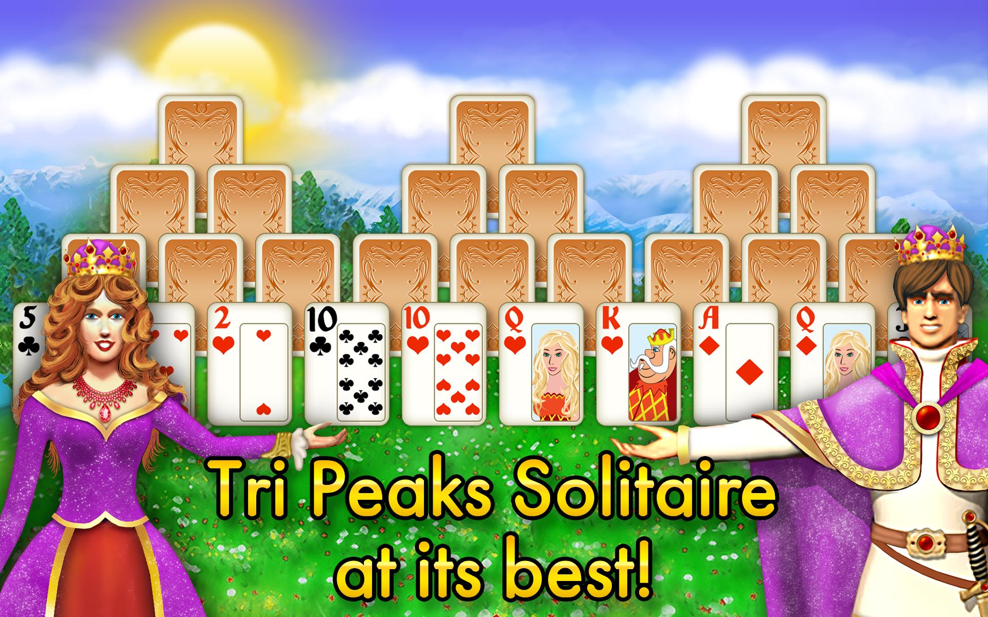 Magic Towers Solitaire Tri Peaks 1.53.21-g Screenshot 11