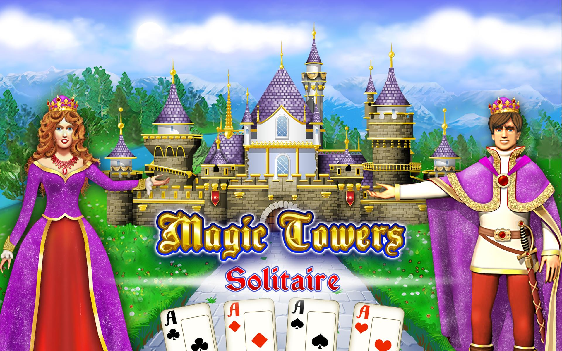 Magic Towers Solitaire Tri Peaks 1.53.21-g Screenshot 15