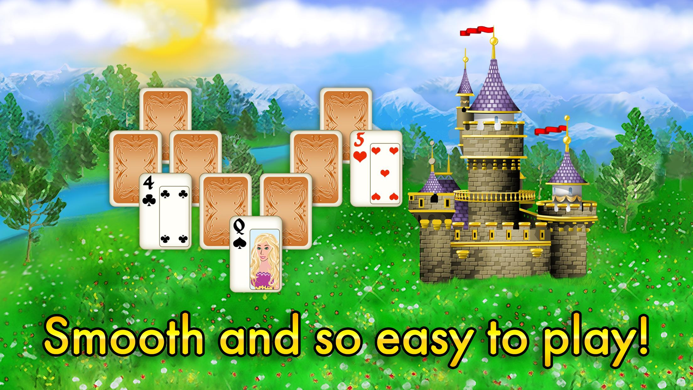 Magic Towers Solitaire Tri Peaks 1.53.21-g Screenshot 4