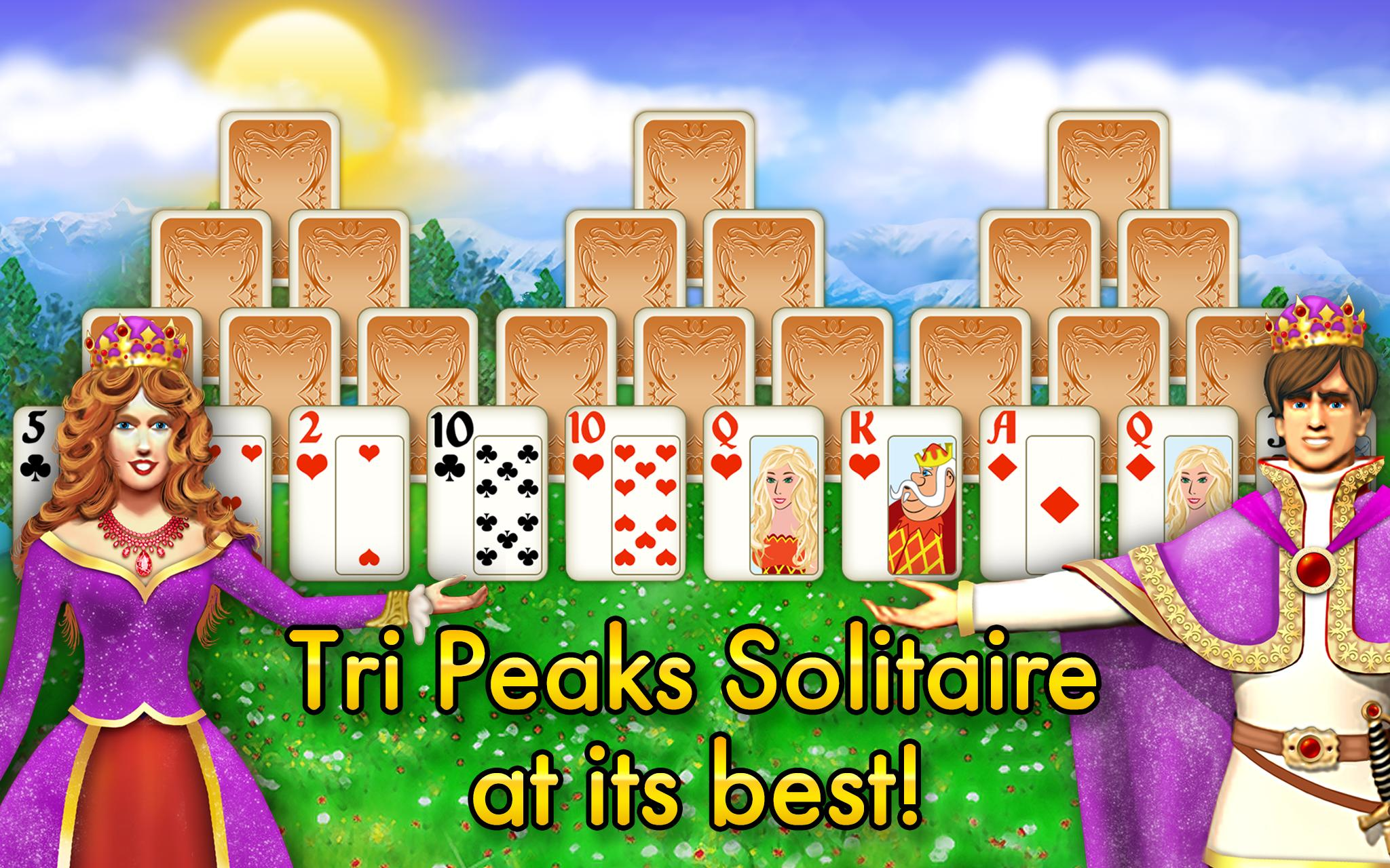 Magic Towers Solitaire Tri Peaks 1.53.21-g Screenshot 6