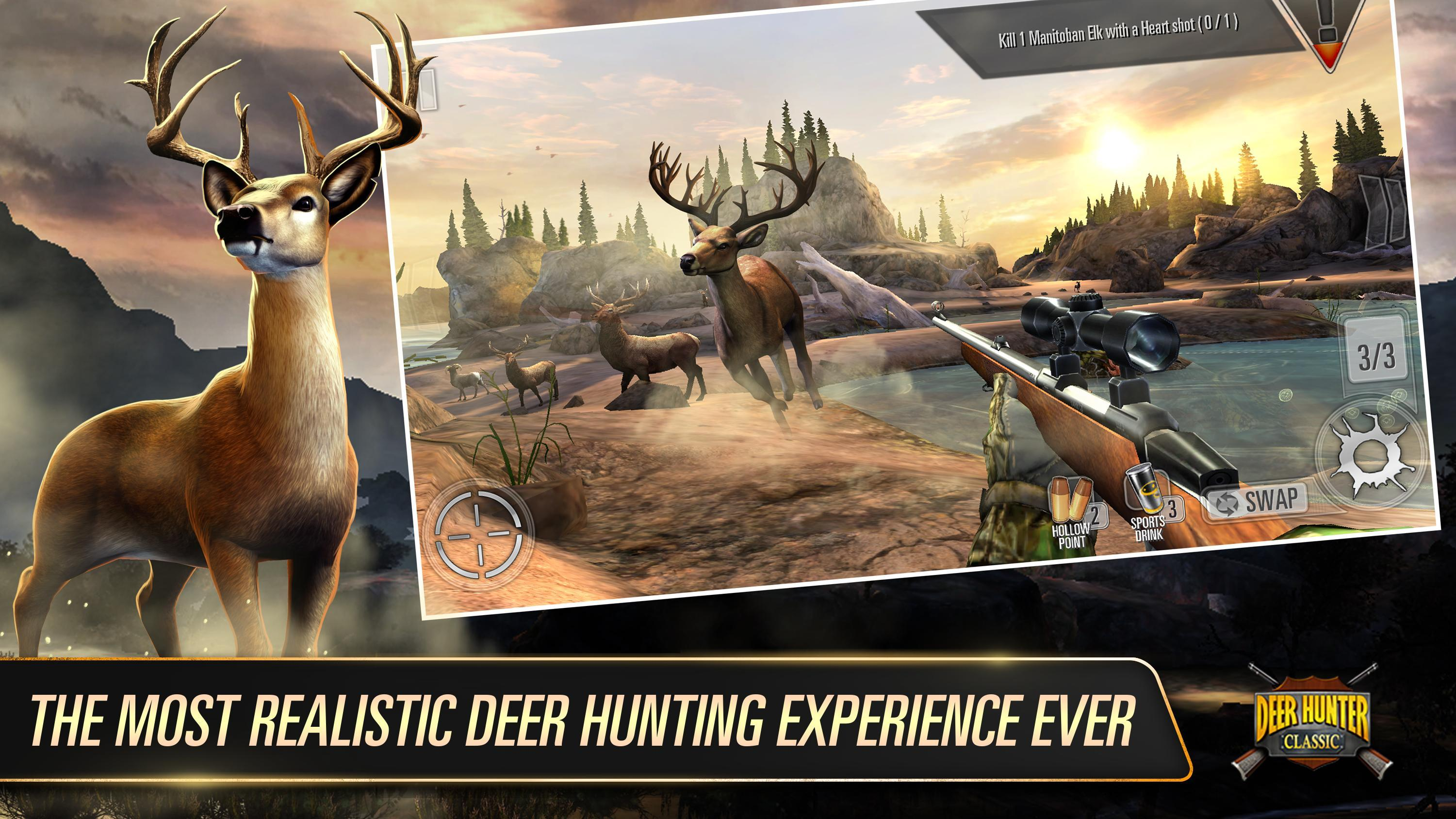 DEER HUNTER CLASSIC 3.14.0 Screenshot 1