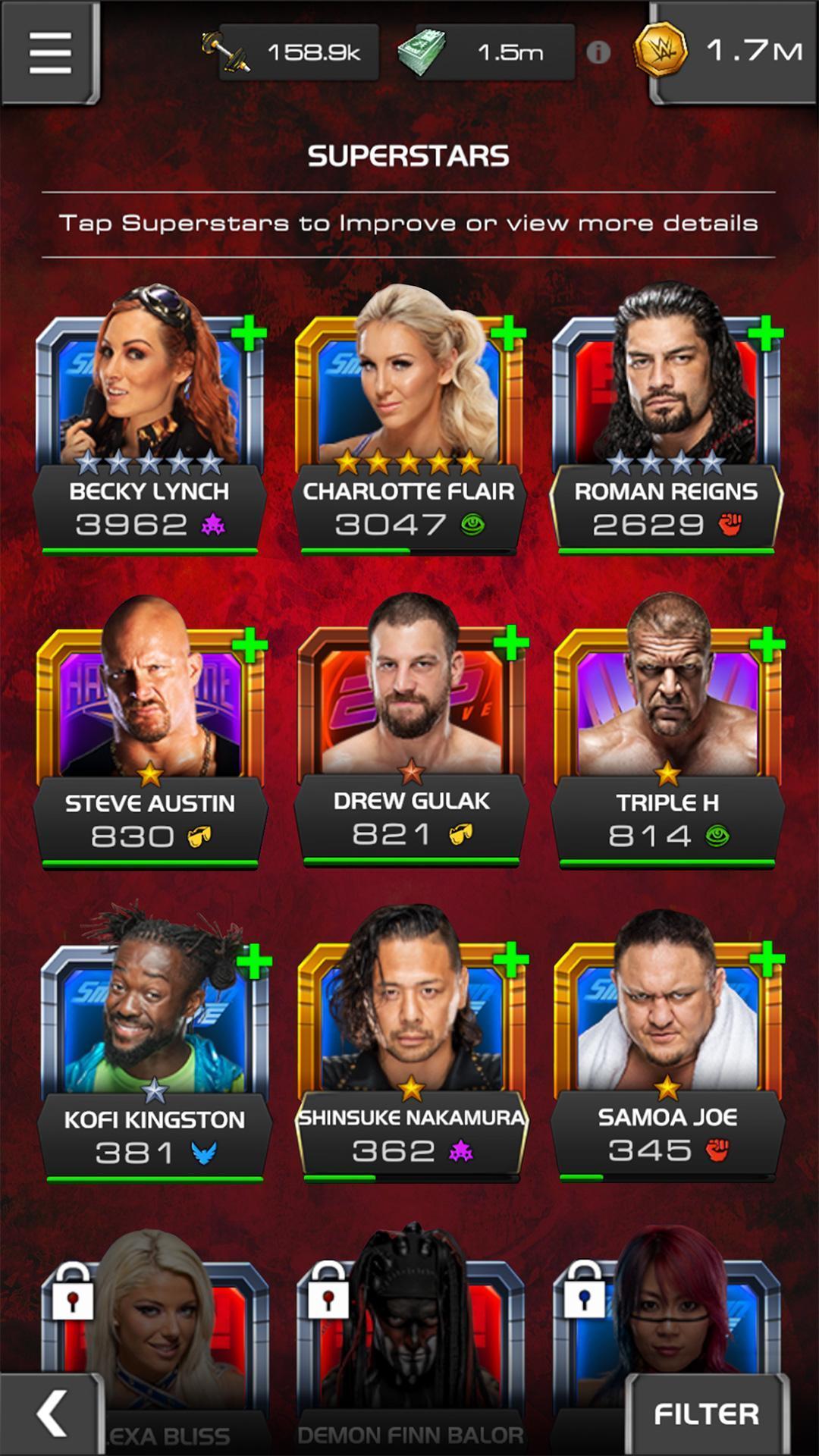 WWE Universe 1.4.0 Screenshot 20