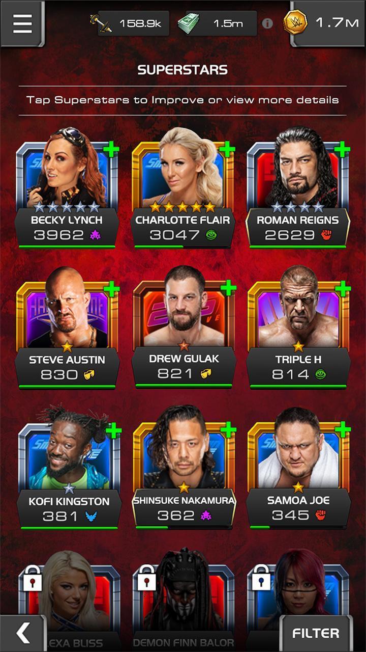 WWE Universe 1.4.0 Screenshot 6