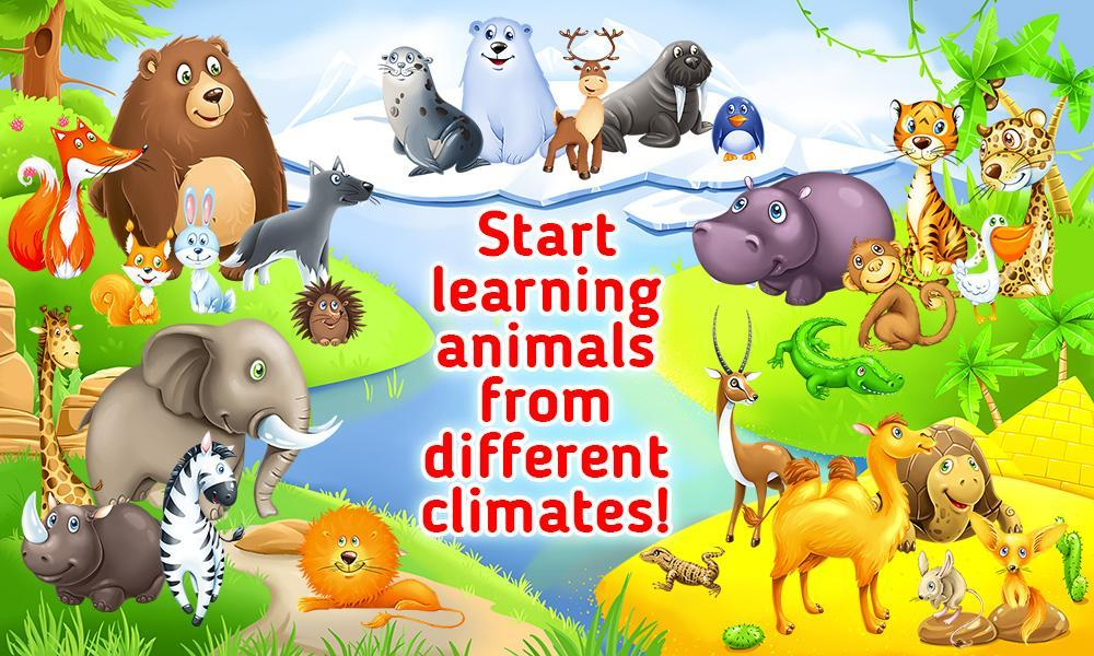 Learning Animals for Toddlers - Educational Game 1.1.3 Screenshot 1