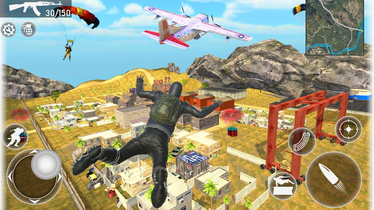 Fire Squad Battle Royale - Free Gun Shooting Game 1 Screenshot 1