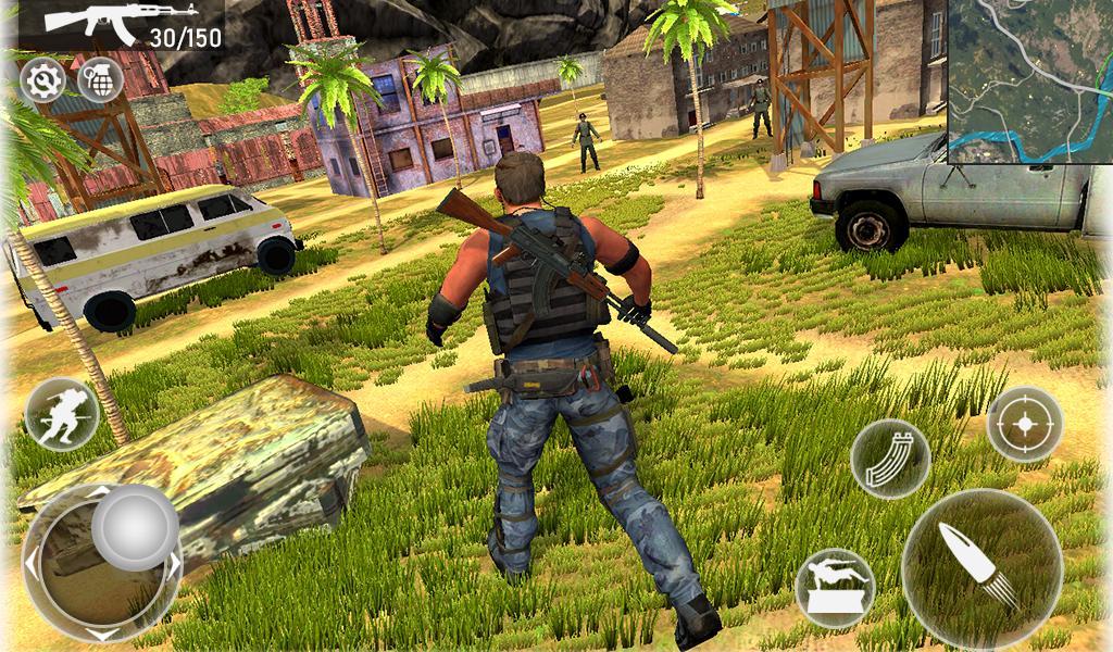 Fire Squad Battle Royale - Free Gun Shooting Game 1 Screenshot 10