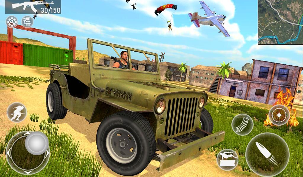 Fire Squad Battle Royale - Free Gun Shooting Game 1 Screenshot 12