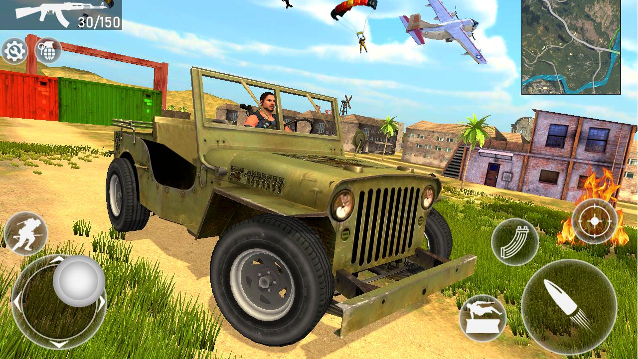 Fire Squad Battle Royale - Free Gun Shooting Game 1 Screenshot 4