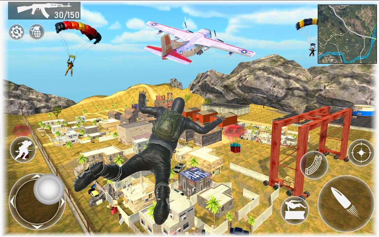 Fire Squad Battle Royale - Free Gun Shooting Game 1 Screenshot 5