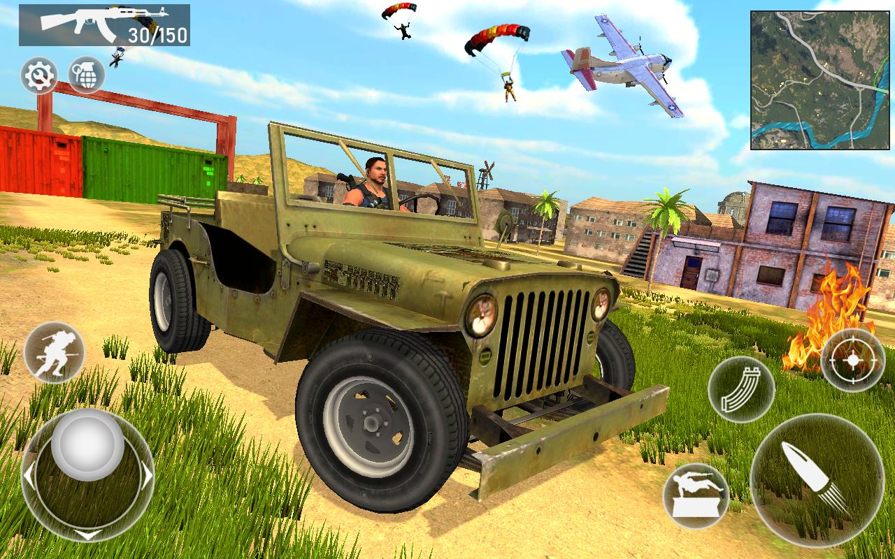 Fire Squad Battle Royale - Free Gun Shooting Game 1 Screenshot 7
