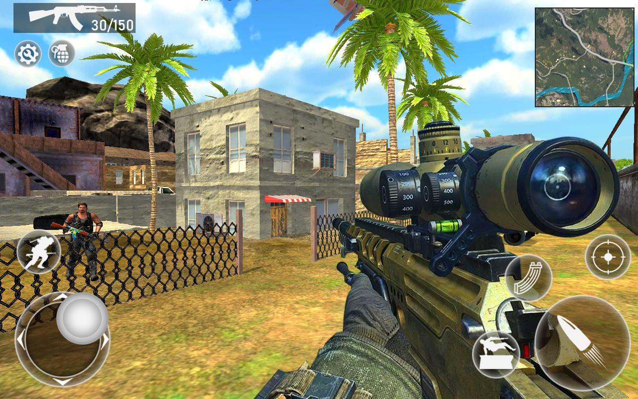 Fire Squad Battle Royale - Free Gun Shooting Game 1 Screenshot 8