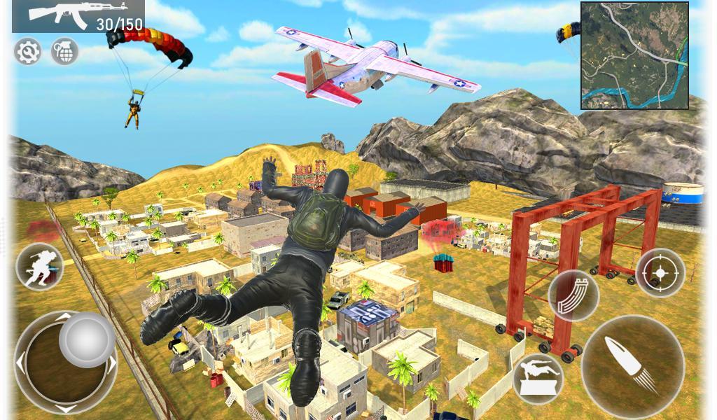 Fire Squad Battle Royale - Free Gun Shooting Game 1 Screenshot 9