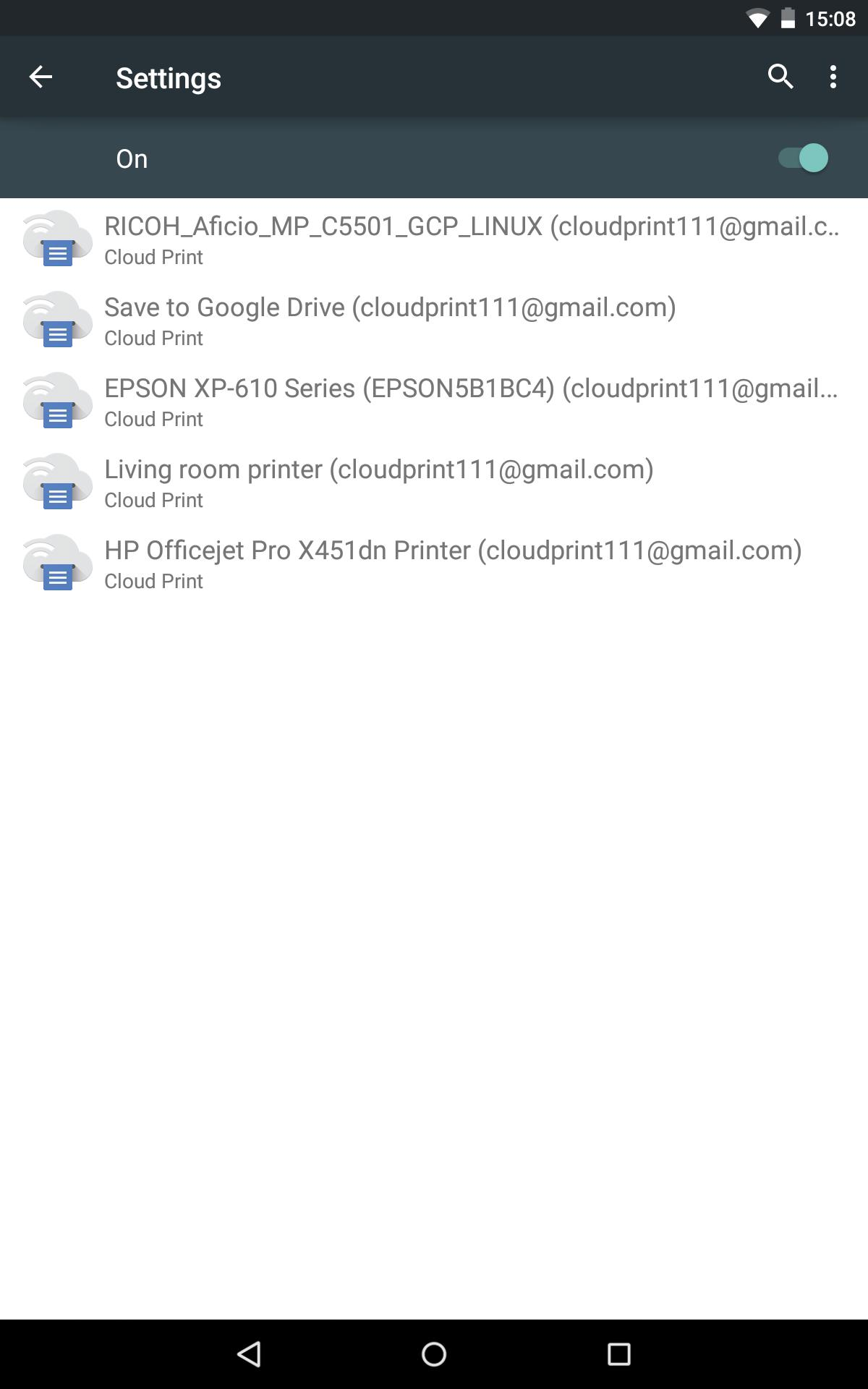 Cloud Print 1.47 Screenshot 11