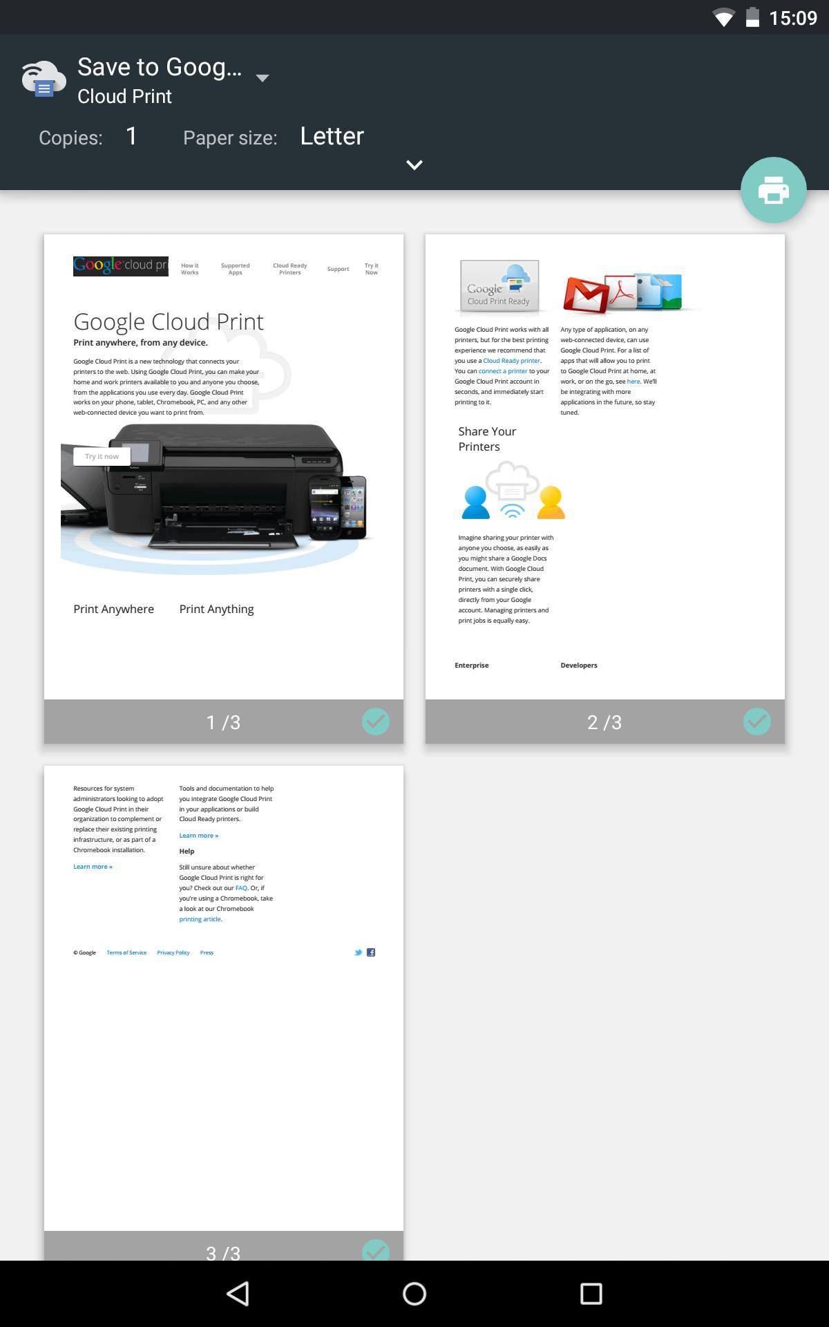 Cloud Print 1.47 Screenshot 12