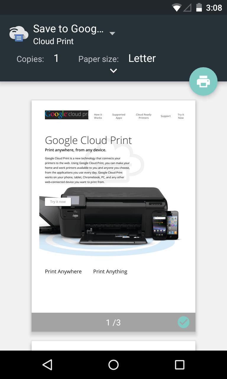 Cloud Print 1.47 Screenshot 2