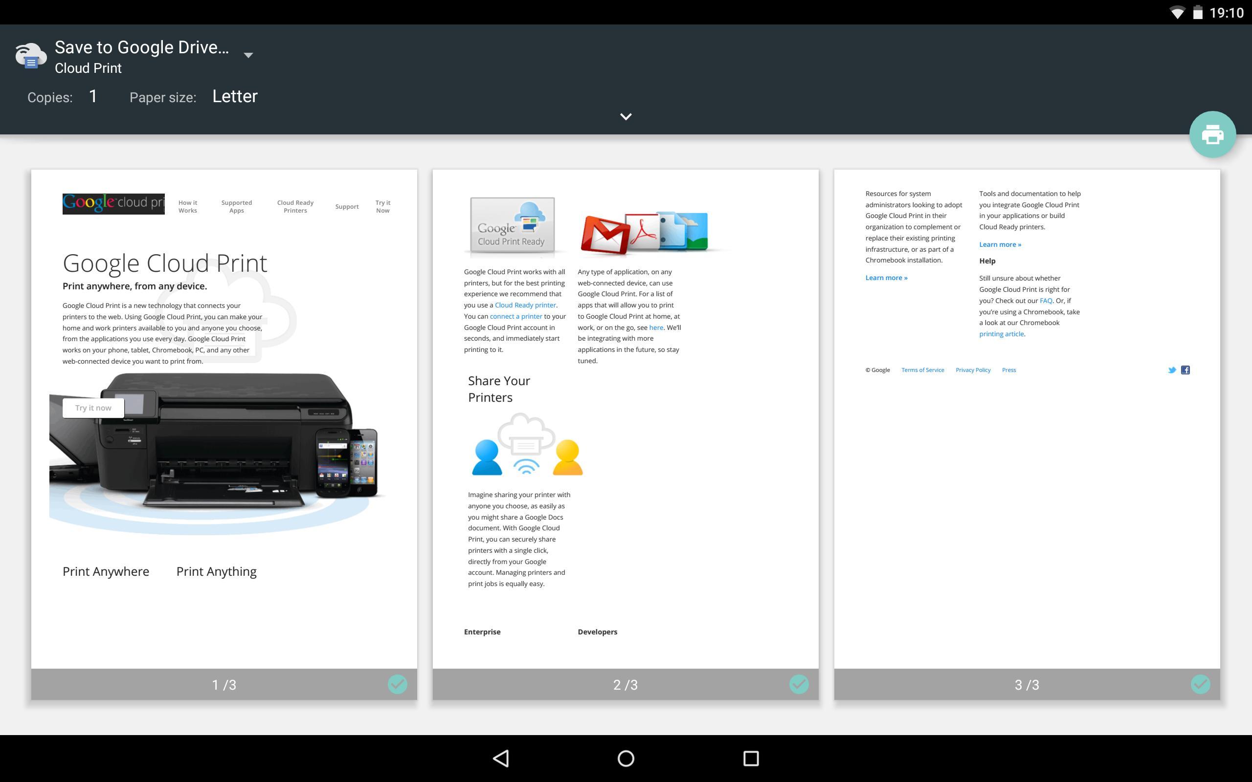 Cloud Print 1.47 Screenshot 7