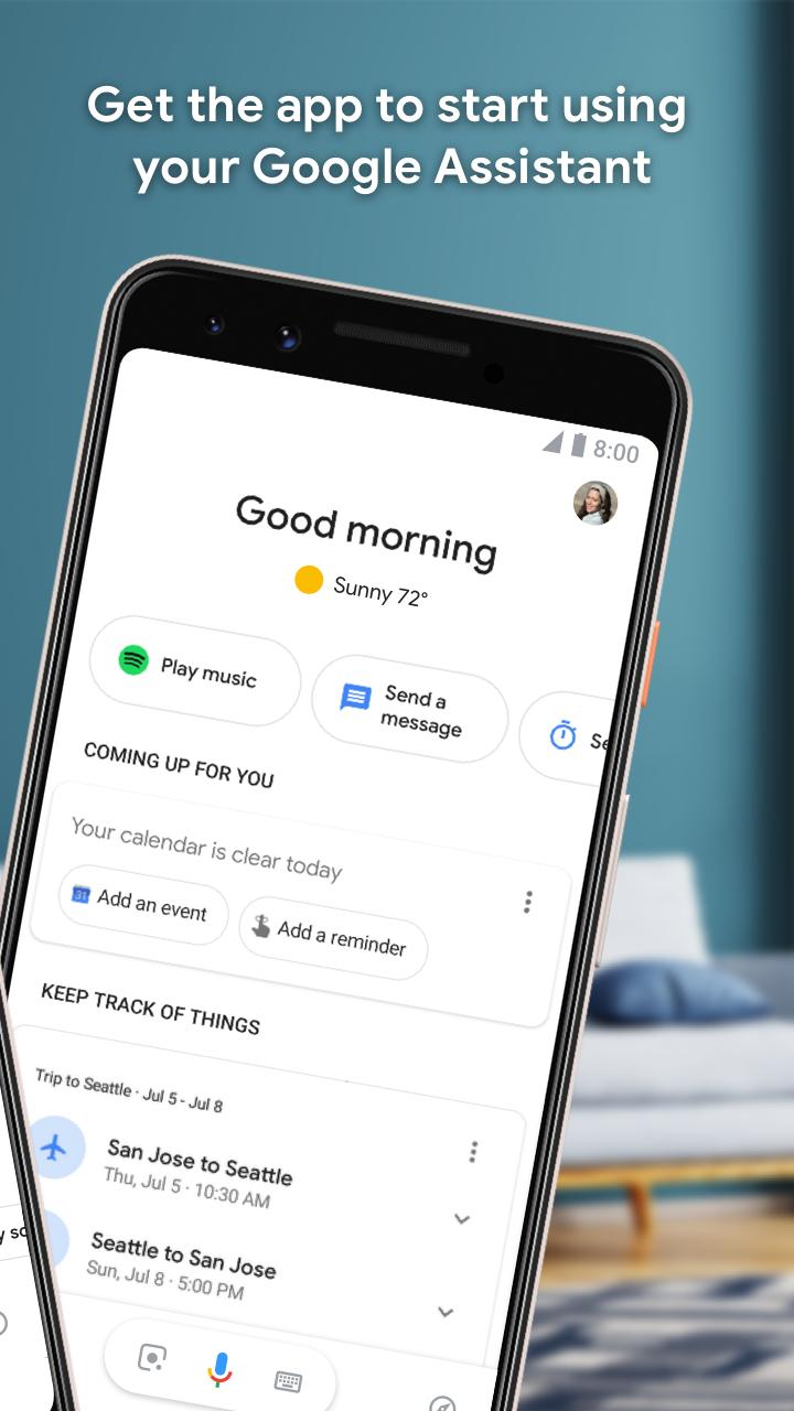 Google Assistant - Get things done, hands-free 0.1.187945513 Screenshot 2