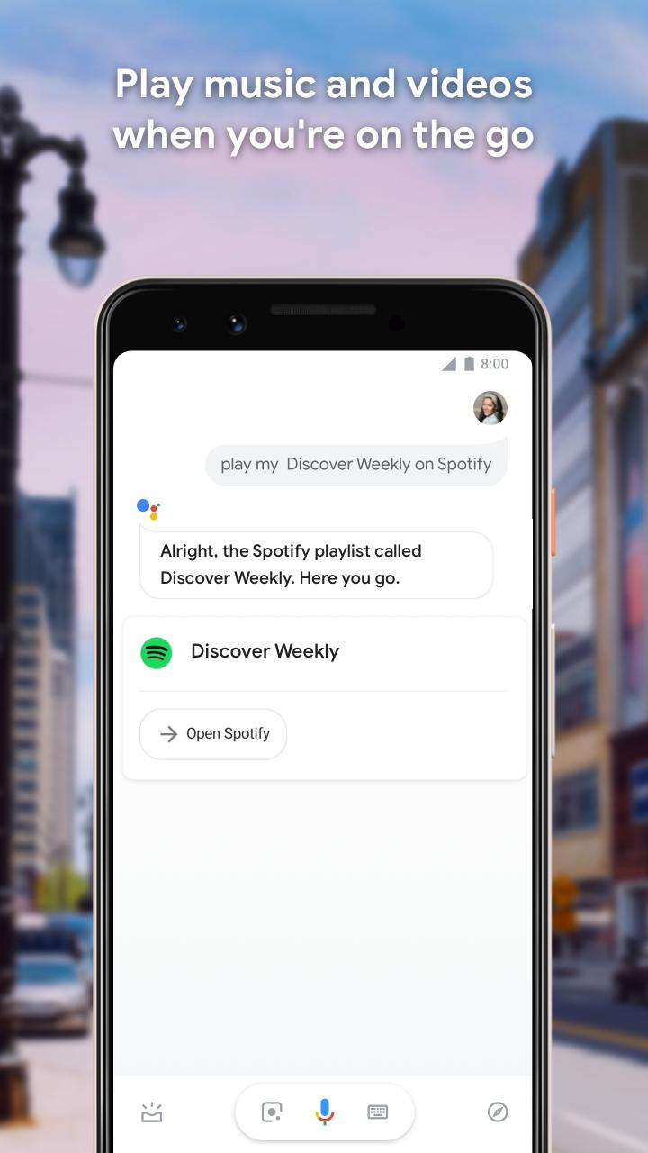 Google Assistant - Get things done, hands-free 0.1.187945513 Screenshot 6