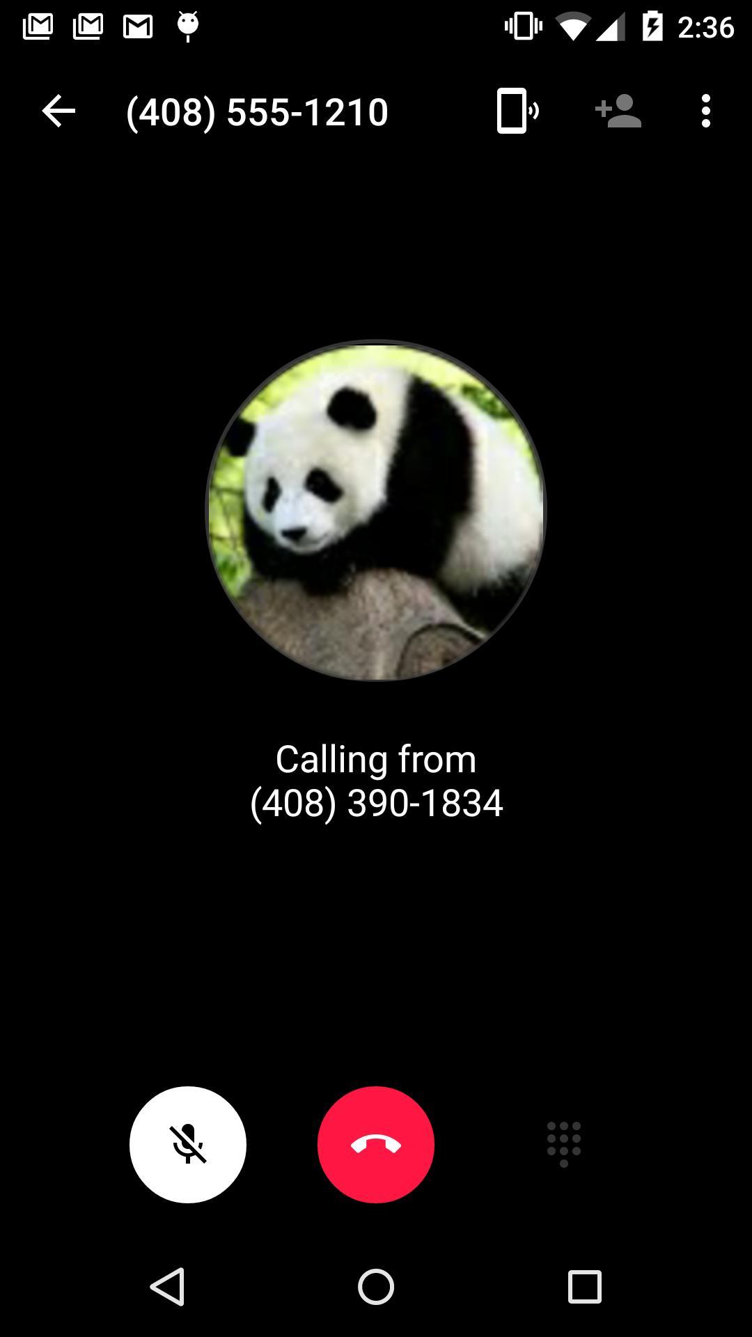 Hangouts Dialer Call Phones 0.1.100944346 Screenshot 5