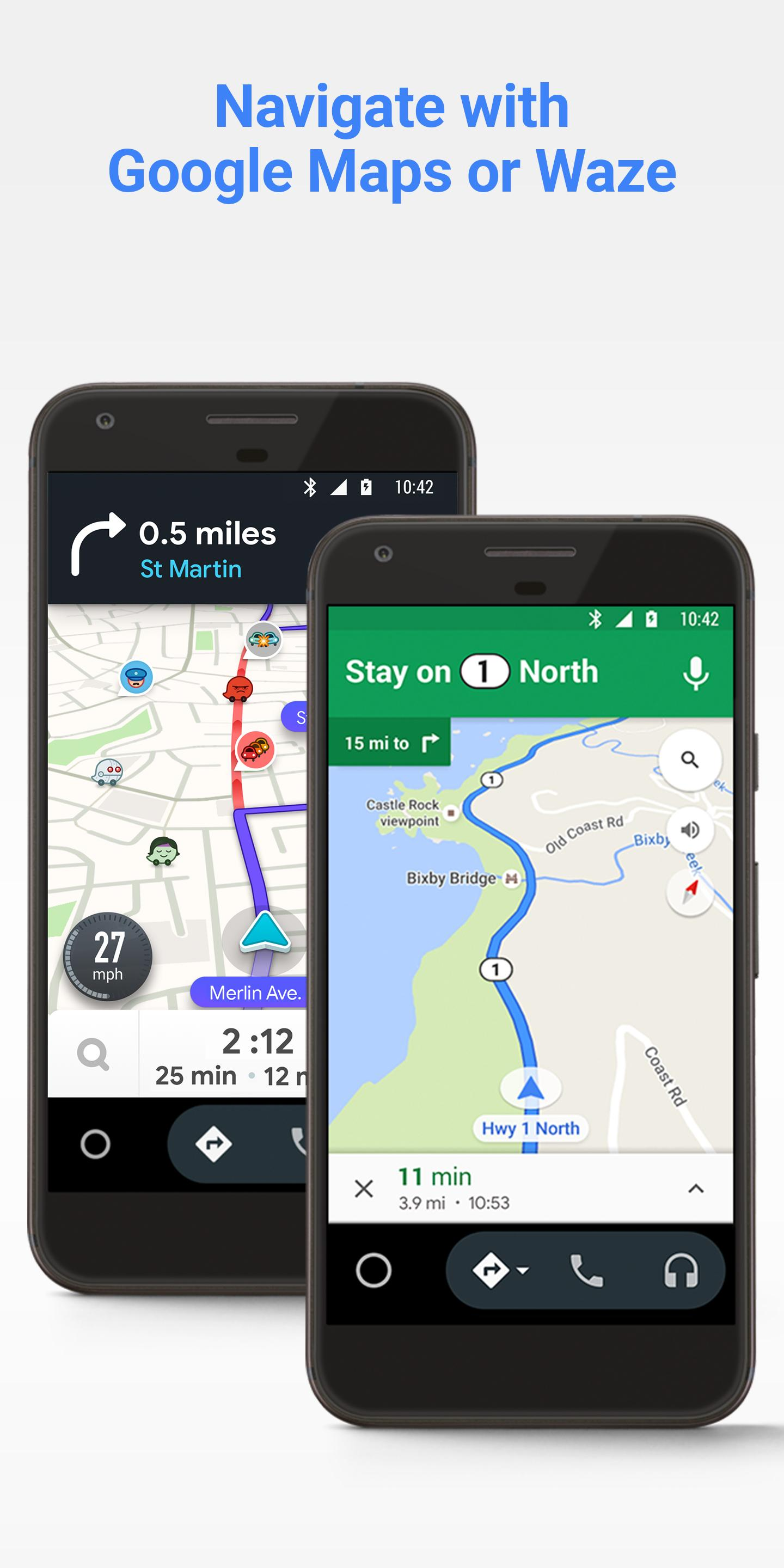 Android Auto for phone screens 1.1 Screenshot 2